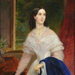 """Карл Брюллов """"Портрет молодой женщины у фортепьяно"""" 1838"""