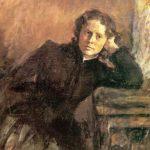 """Валентин Серов """"Портрет О. Трубниковой"""" 1885 ГТГ"""