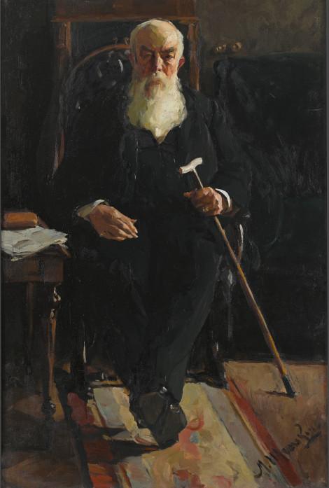 """Михаил Шемякин """"Портрет А. И. Абрикосова"""" 1902"""