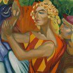 """Надежда Лермонтова """"Язон, заклинающий дракона. Мотив балета С. Соловьева """"Золотое руно"""" 1913–1914"""