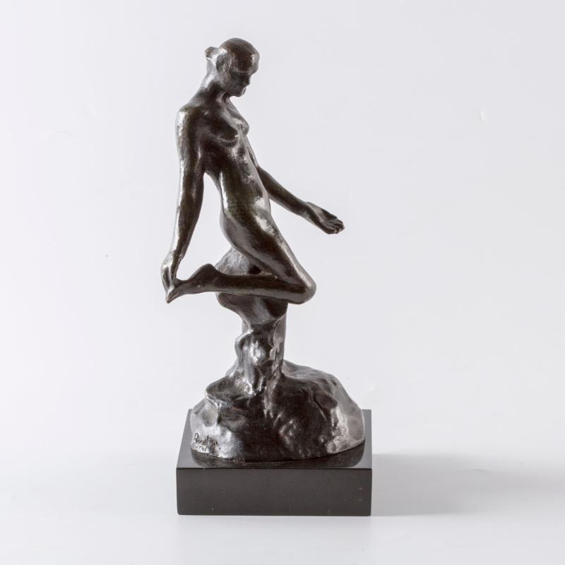 """Огюст Роден """"Женская фигура к """"Вечному идолу"""". Маленькая модель"""""""