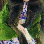 """Илья Репин """"Портрет Н.Б. Нордман-Северовой"""" 1909 Новгородский музей."""