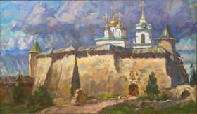Пленэр. Русская провинция. Живопись.