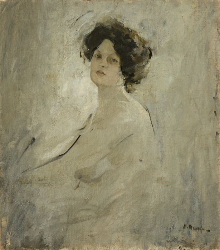 "Михаил Шемякин ""Натурщица"" 1905"
