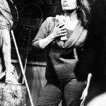 """Дуглас Киркланд """"Элизабет Тейлор, на съемках фильма """"Кулик"""" Париж, 1964"""