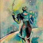 "Александр Родченко ""Клоун. Сцена в цирке"" 1935"