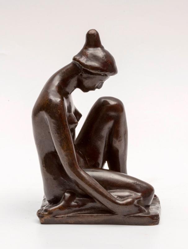 """Аристид Майоль """"Девушка с остроконечным пучком волос"""" 1900"""