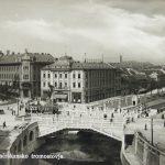 Любляна, Сад всех святых и тройной мост