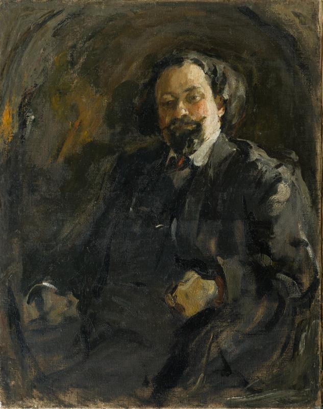 """Михаил Шемякин """"Мужской портрет"""" 1905"""