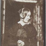 """Уильям Генри Фокс Тальбот """"Женский портрет"""" 1841"""