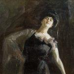 """Михаил Шемякин """"Женский портрет"""" 1900-е"""