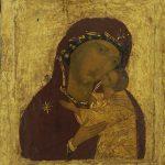 "Икона ""Богоматерь Умиление"" Конец XV – начало XVI веков"
