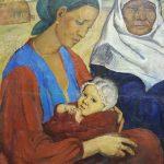 """Татьяна Назаренко """"Мать с ребенком"""" 1966"""