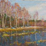 """Андрей Соловьев """"Весна. Величие луга"""" 2004"""