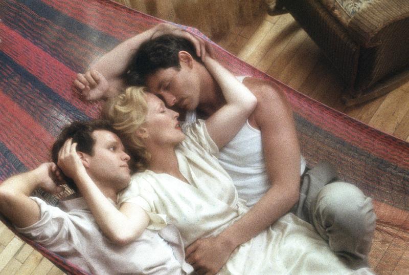 """Дуглас Киркланд """"Питер МакНикол, Мерил Стрип, и Кевин Клайн, """"Выбор Софи"""" Нью-Йорк, 1982"""