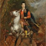 "Карл Брюллов ""Керубино Корньенти. Портрет А.Н. Демидова на коне"" 1852"