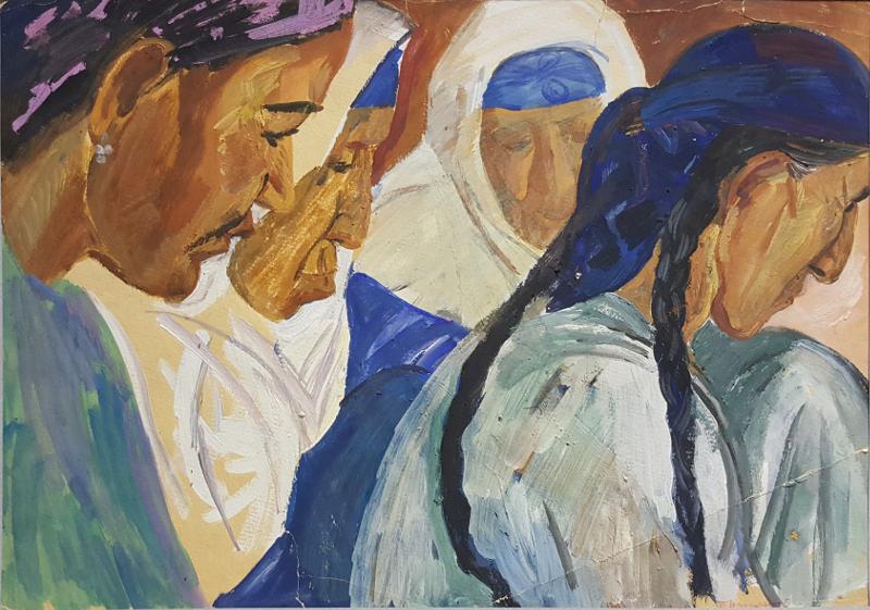 "Татьяна Назаренко ""Молитва"" 1967"