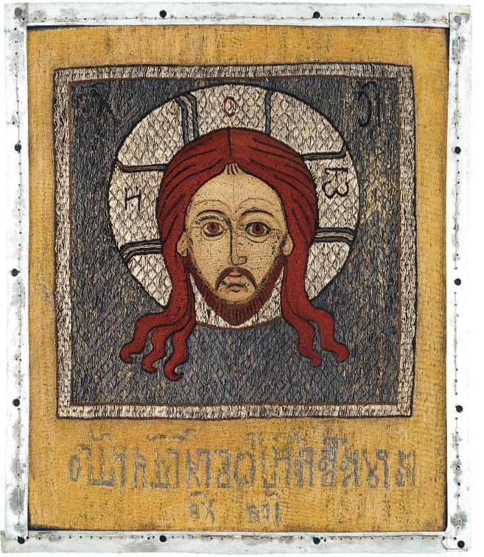 Хоругвь «Спас Нерукотворный». Середина XVII века