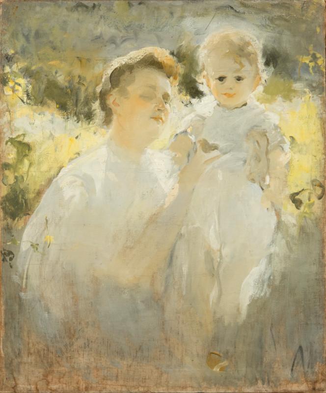 """Михаил Шемякин """"Материнство"""" 1907"""
