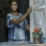 "Роберт Фальк ""Девушка у окна"" 1926 Краснодар"