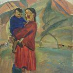 """Татьяна Назаренко """"В степи"""" 1966"""
