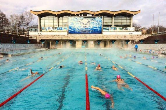 Бассейн «Чайка» – первая ласточка модернизма. Экскурсия с плаванием.