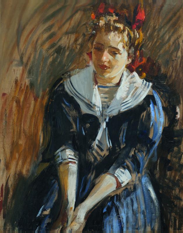 """Михаил Шемякин """"Девочка в матроске (Сонечка)"""" 1910"""