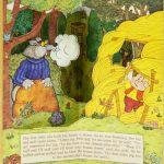 """""""Три поросёнка"""". Художник: Karen Acosta. Англия, 1940-1950"""