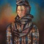 "Александр Тышлер ""Портрет жены"" 1926 ГМИИ"