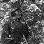 """Михаил Прехнер """"Лыжница"""" 1930-е"""