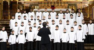 Хор мальчиков монастыря Эскориал. Московский Рождественский фестиваль духовной музыки.