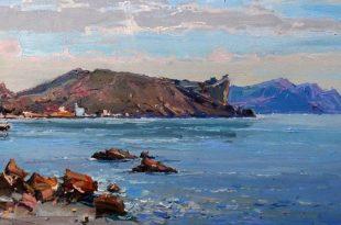 Выставка живописи крымских художников Игоря Поздеева и Алексея Петрухина.