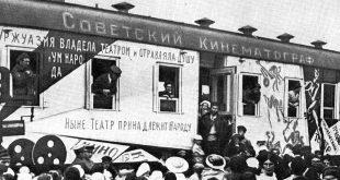 Лекция Николая Изволова «Кинорепертуар агитвагона».