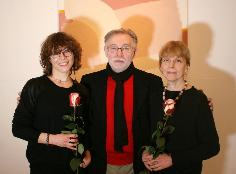 Наталья Ситникова, Александр Ситников и Ольга Булгакова