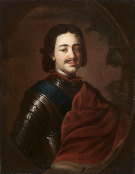 Неизвестный художник «Портрет царя Петра I» 1710-е