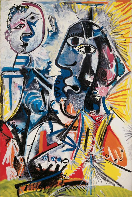"""Пабло Пикассо """"Большие головы"""" 1969"""