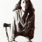 """Любовь Борисова """"Автопортрет"""" 1985"""