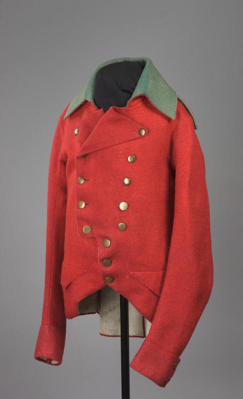 Куртка барабанщика Сухопутного Шляхетного корпуса. Россия, 1780–1790-е