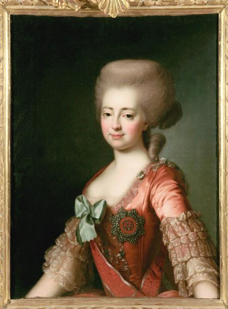 Дмитрий Левицкий «Портрет великой княгини Марии Федоровны» Вторая половина 1780 – первая половина 1790-х