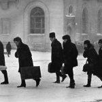 """Всеволод Тарасевич """"Зимнее утро"""" Норильск, 1965"""