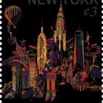 "Джеки Цай ""NYC. Cityscape Stamp"""