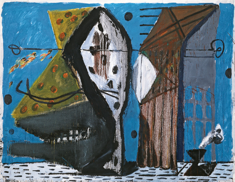"""Маркус Люперц """"Стиль: Эвридика"""" 1977-1978"""
