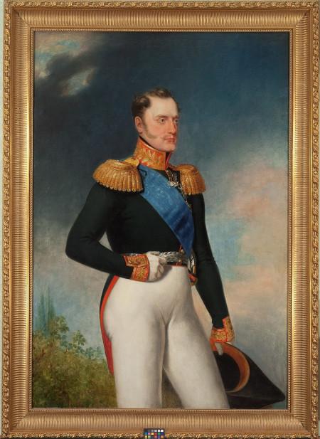 Василий Голике «Портрет императора Николая I» 1836