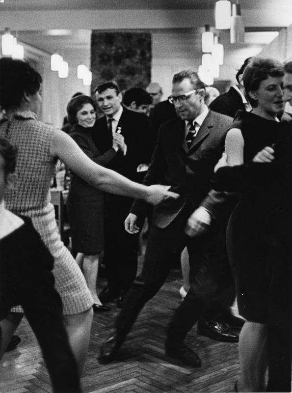 """Всеволод Тарасевич """"Праздничный вечер"""" Норильск, 1965"""