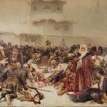 """К.В. Лебедев """"Марфа Посадница. Уничтожение Новгородского веча"""" 1889"""
