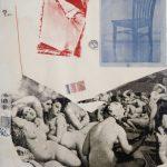 """Роберт Раушенберг """"Турецкие бани (по Энгру)"""" 1967"""