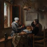 """Ян Стен """" Молитва перед едой"""" 1660"""