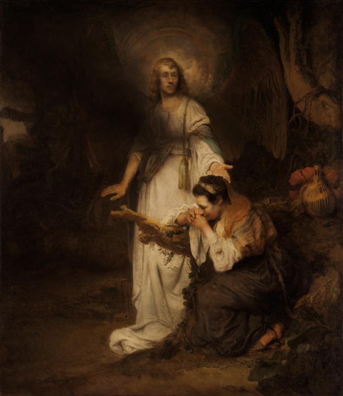 "Карел Фабрициус ""Агарь и Ангел"" Около 1645"
