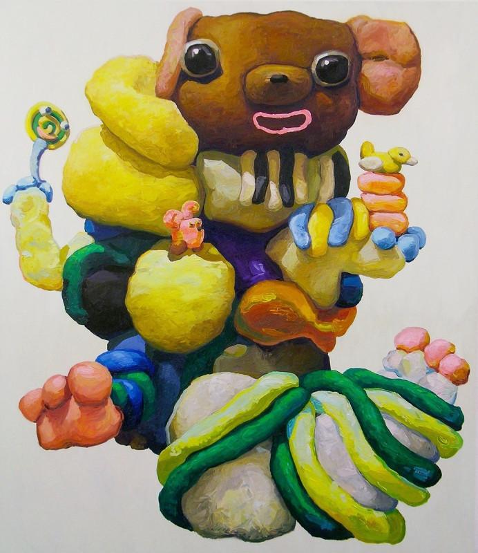 "Питер Опхайм ""Mouse and Pink Rabbit"" 2015"