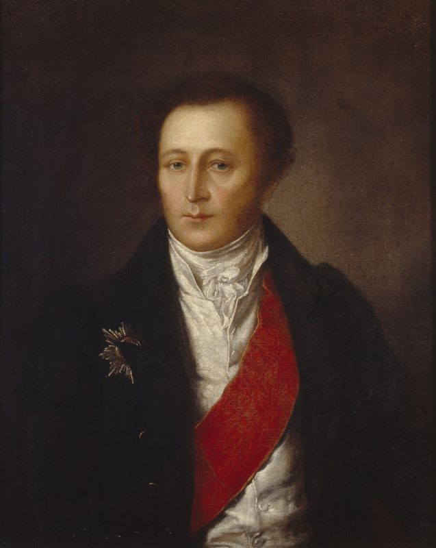 """Неизвестный художник """"И.И. Дмитриев"""" 1810-е"""
